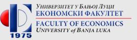 Ekonomski fakultet Univerziteta u Banjoj Luci Majke Jugovića 4